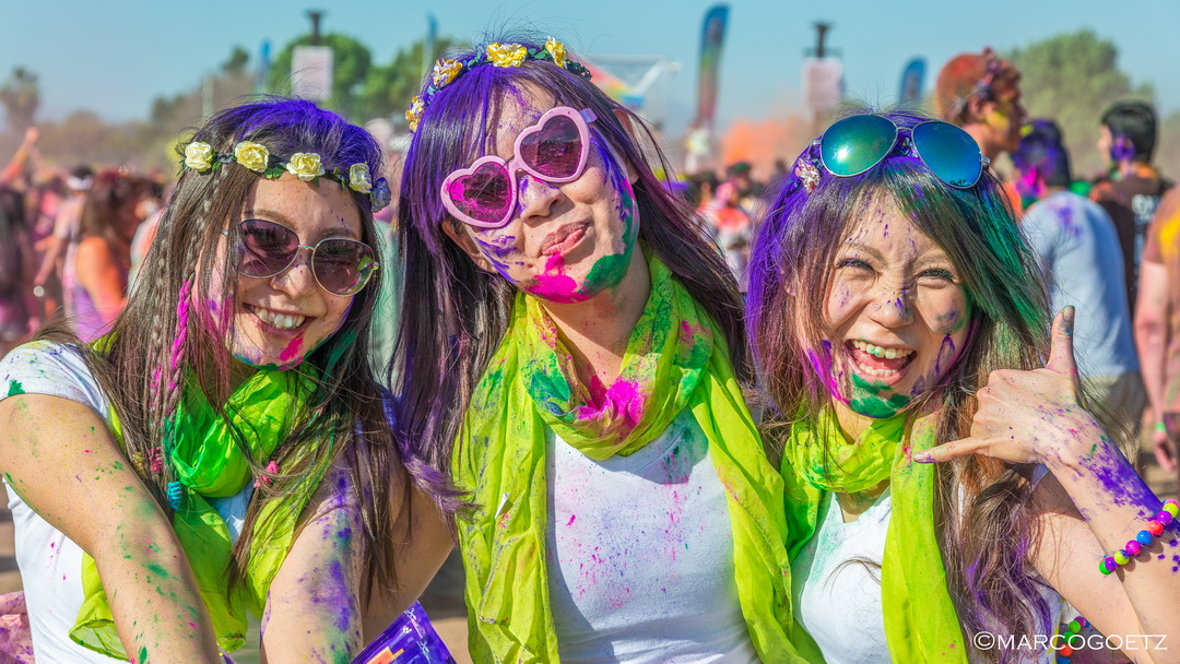 FESTIVAL OF COLORS LOS ANGELES USA
