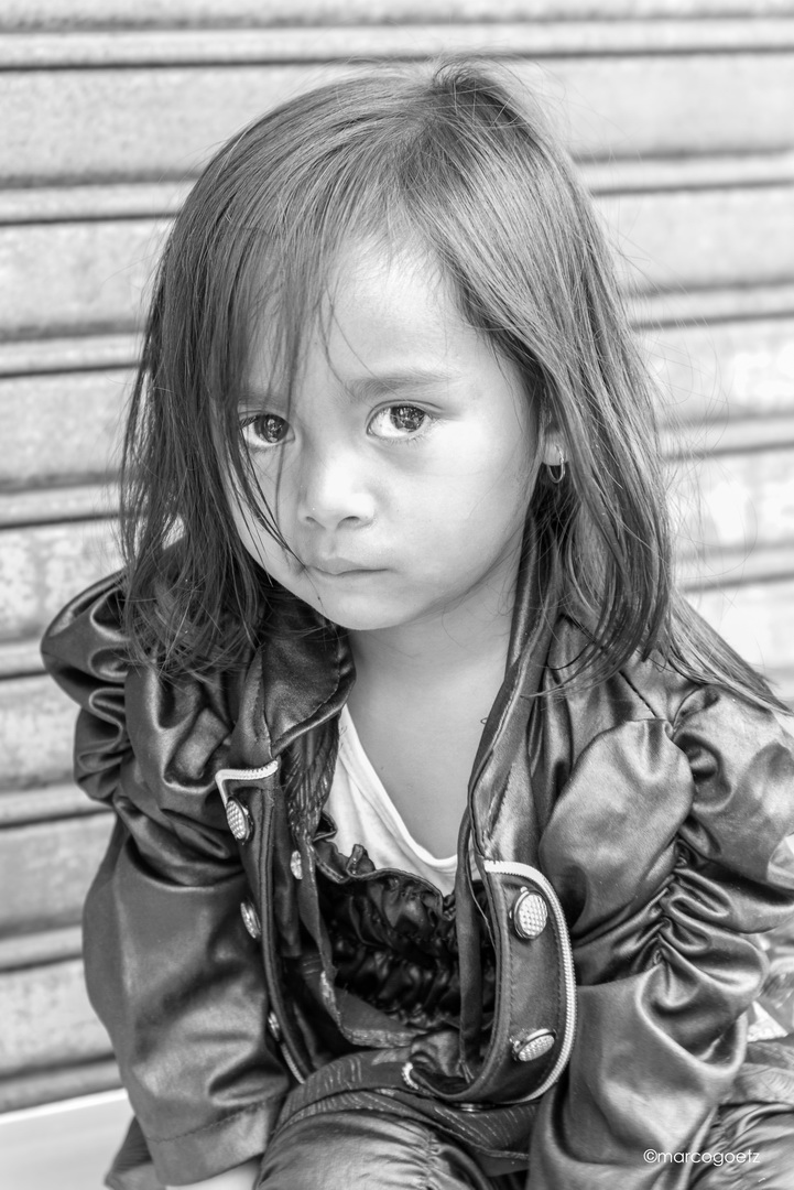 LITTLE BALINESE GIRL BALI INDONESIA