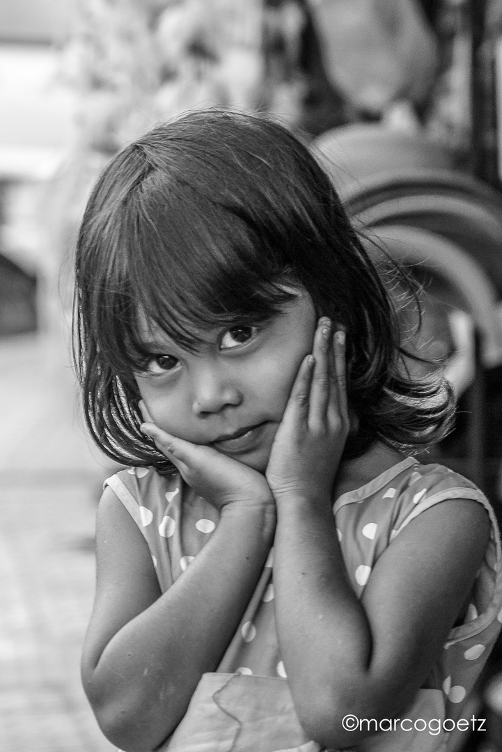 LITTLE GIRL BALI INDONESIA