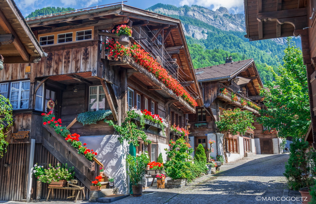 BRUNNGASSE BRIENZ SWITZERLAND