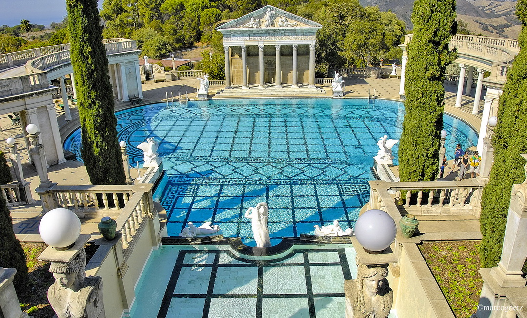 HEARST CASTLE POOL CALIFORNIA USA