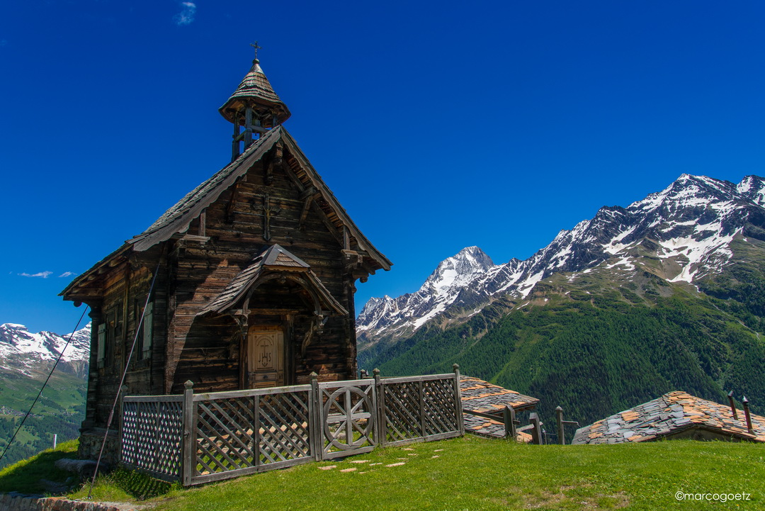 MOUNTAIN CHAPEL HOEHENWEG LOETSCHENTAL WALLIS