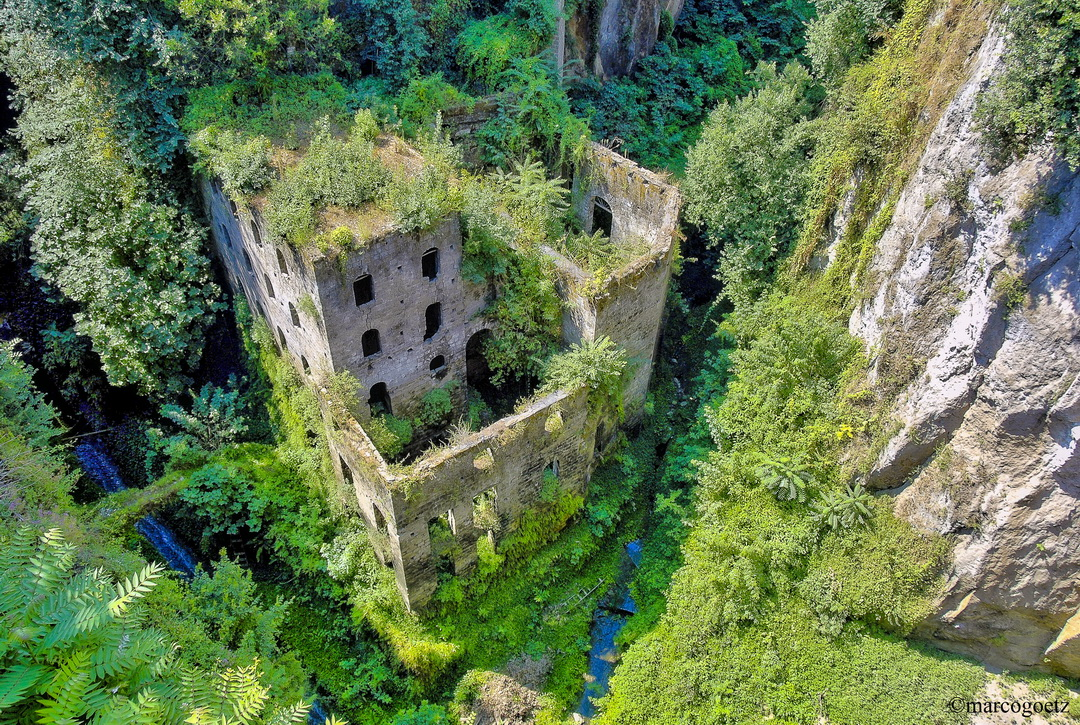 THE OLD MILL OF SORRENTO ITALY