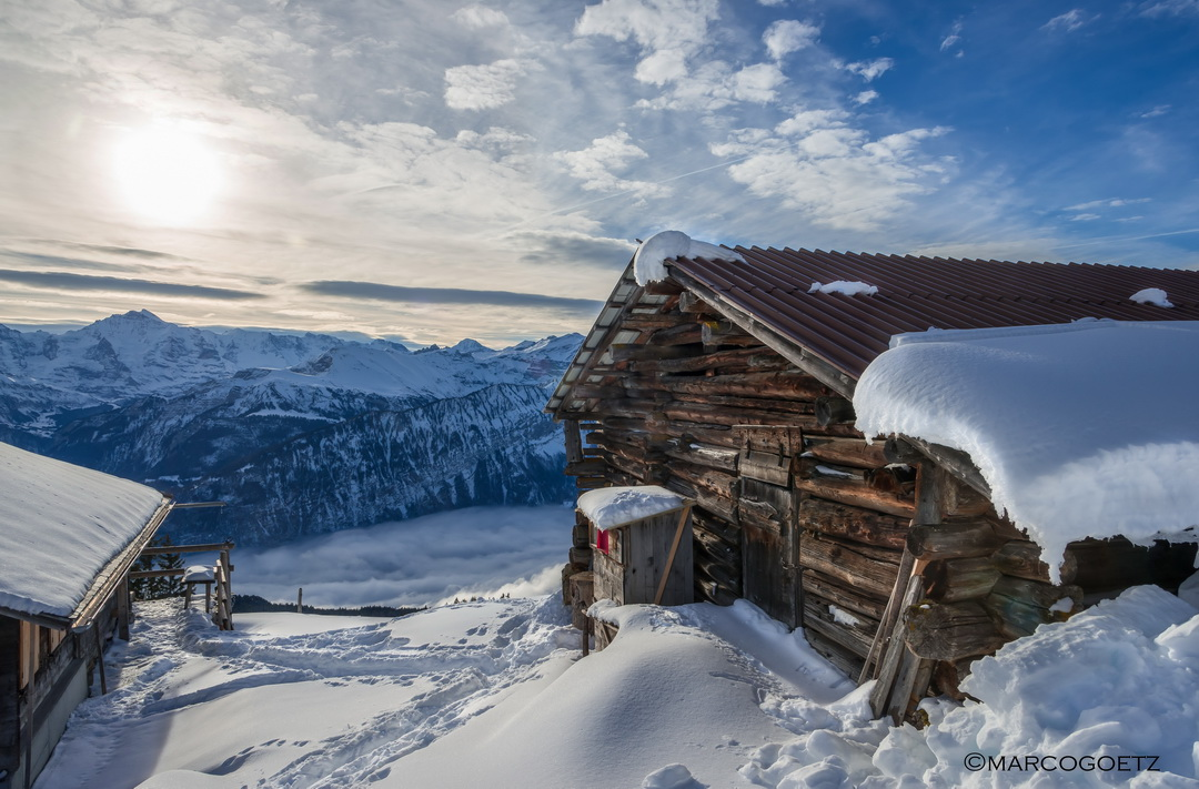WINTER IN HABKERN SWITZERLAND